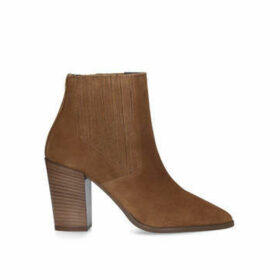 Carvela Sizzle - Tan Block Heel Ankle Boots