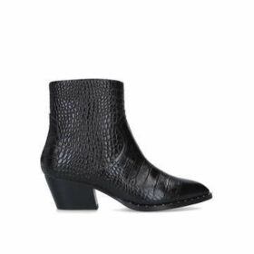 Aldo Agroacia - Black Cuban Heel Ankle Boots