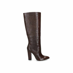 Aldo Ibilia - Brown Knee High Block Heel Boots