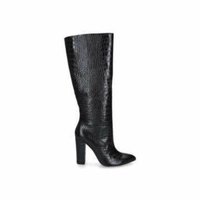 Aldo Ibilia - Black Knee High Block Heel Boots