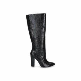 Aldo Ibilia - Black Knee High Block Heel Boots