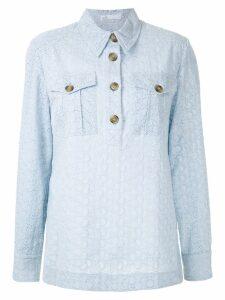 Nk broderie anglaise Karin shirt - Blue