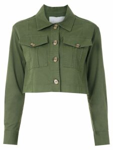 Nk Pistol Cecil cropped jacket - Green