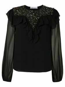 Nk Antares Mariana star sequinned blouse - Black