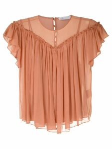 Nk Flow Violeta silk blouse - PINK