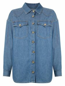 Nk Susan denim shirt - Blue
