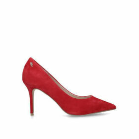 Kurt Geiger London Penina - Red Stiletto Heel Court Shoes