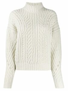 IRO cable knit jumper - White