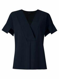 Alcaçuz front pleat Mirante blouse - Blue