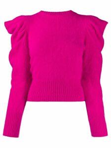 Antonino Valenti puff sleeve jumper - PINK