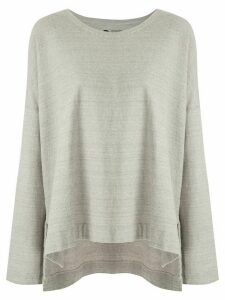 Osklen Rustic Eco knitted blouse - Grey