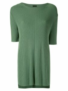 Osklen ribbed knit blouse - Green