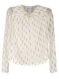 Nk Navajo Debbie silk blouse - White