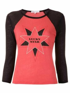 Nk printed Gabriela raglan T-shirt - Red