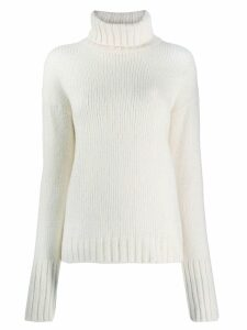 Philosophy Di Lorenzo Serafini roll neck sweater - White