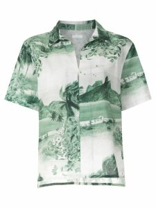 Osklen RJ print short sleeves shirt - Multicolour