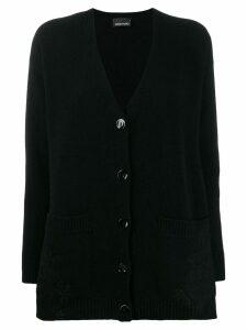 Ermanno Ermanno V-neck cardigan - Black