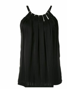 Reinaldo Lourenço cut out embellished blouse - Black