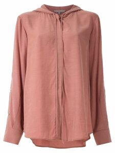 Alcaçuz Madagascar hooded shirt - PINK