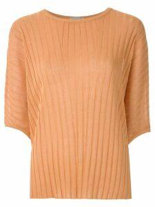 Alcaçuz Naila knit blouse - ORANGE