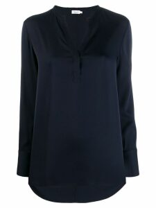 Filippa K slit detail blouse - Blue