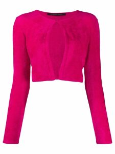 Antonino Valenti single-button cardigan - PINK