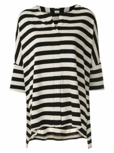 Osklen Narrow Rustic Stripe blouse - Black