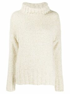 Snobby Sheep chunky knit jumper - White