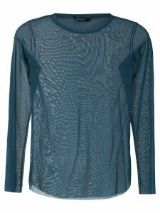 Uma Raquel Davidowicz Canto long sleeves blouse - Blue