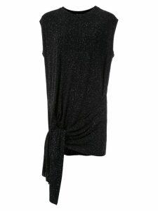 Uma Raquel Davidowicz Camden textures sleeveless blouse - Black
