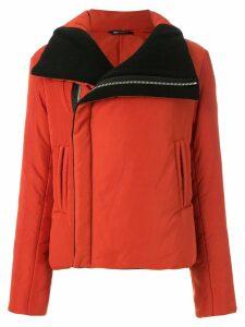 Uma Raquel Davidowicz Domino puffer biker jacket - Red