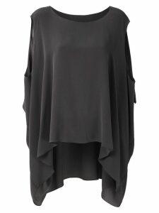 Uma Raquel Davidowicz Camas silk blouse - Grey