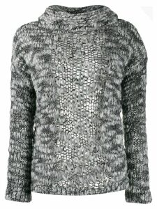 Snobby Sheep textured knitted jumper - Black