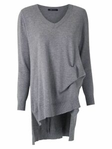 Uma Raquel Davidowicz Tim knit blouse - Grey