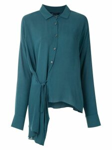 Uma Raquel Davidowicz Boulder asymmetric shirt - Blue