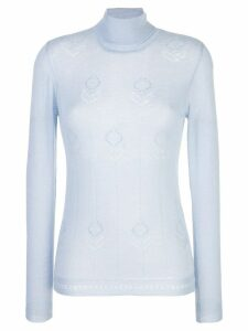 Adam Lippes roll neck sweater - Blue