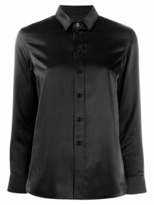 Saint Laurent classic silk shirt - Black