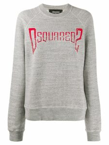 Dsquared2 logo print jumper - Grey