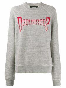 Dsquared2 logo print jumper - Grey