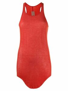 Rick Owens loose fit tank top - Red