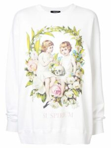 Undercover graphic print sweatshirt - White