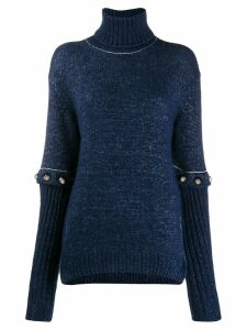 Chloé detachable sleeves jumper - Blue