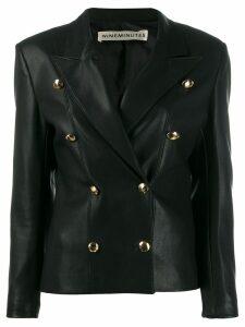 Nineminutes faux leather jacket - Black