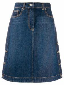 Kenzo high-rise denim skirt - Blue
