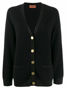 Missoni button-up knit cardigan - Black