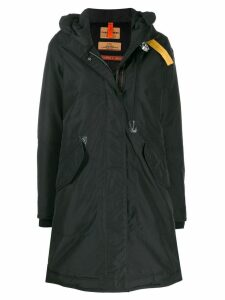 Parajumpers zipped hooded jacket - Black