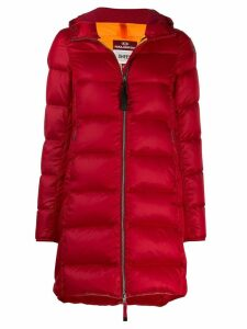 Parajumpers padded single-breasted coat - Red