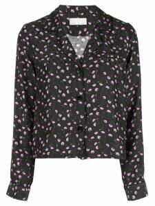 Fleur Du Mal carnation pyjama top - Black