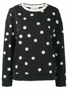Chinti & Parker polka dot jumper - Black