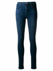 J Brand Maria high-rise super skinny jeans - Blue